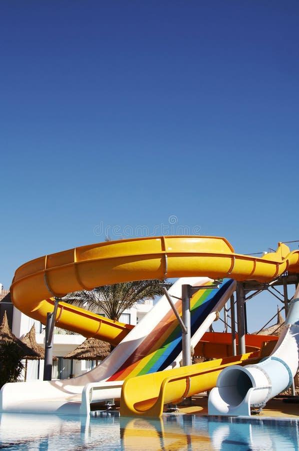 Aqua-Park lizenzfreie stockfotos