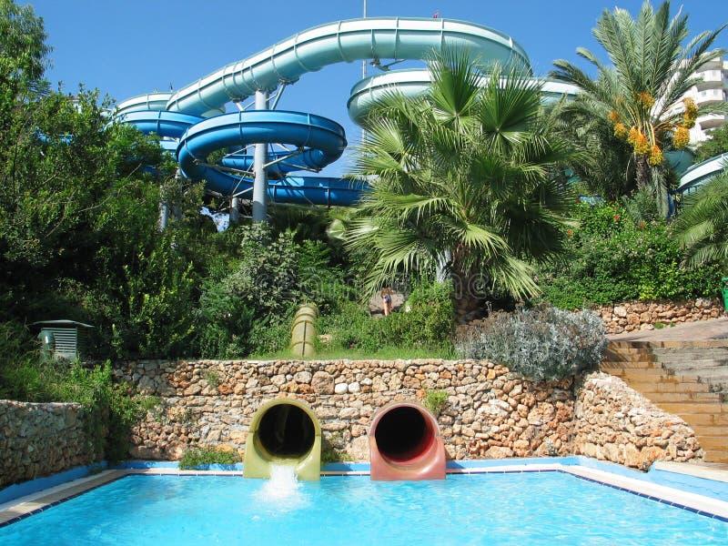 aqua parku fotografia royalty free
