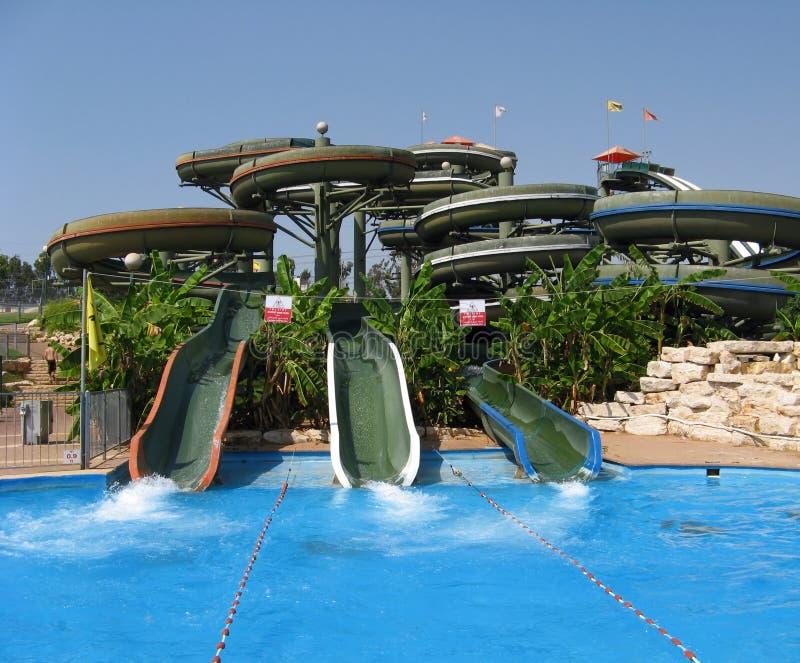 Aqua-parque do divertimento fotografia de stock royalty free
