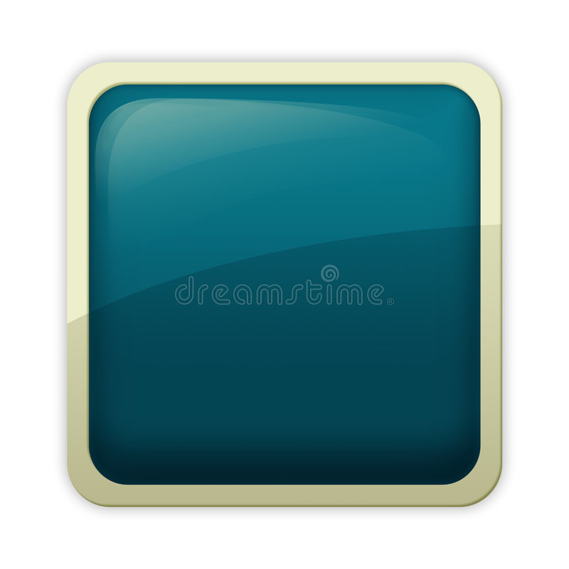 Free Aqua Style - Cerulean Button Royalty Free Stock Image - 4394036