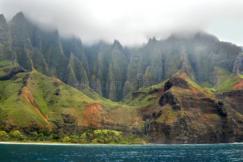 Download Aqua Waters of Na Pali stock image. Image of coastline - 6478151