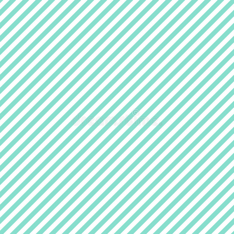 Aqua & white diagonal stripes pattern, seamless texture backgrou royalty free stock photo