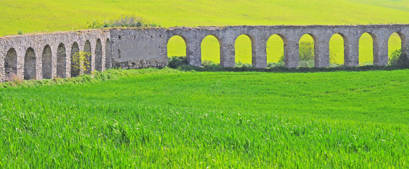 Aquaduct royaltyfri foto