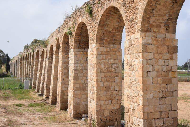 Aquaduct Lohamei Hageta ?ot royalty-vrije stock afbeeldingen