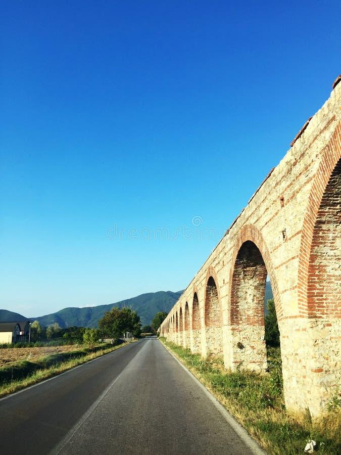 Aquaduct Lucques images libres de droits