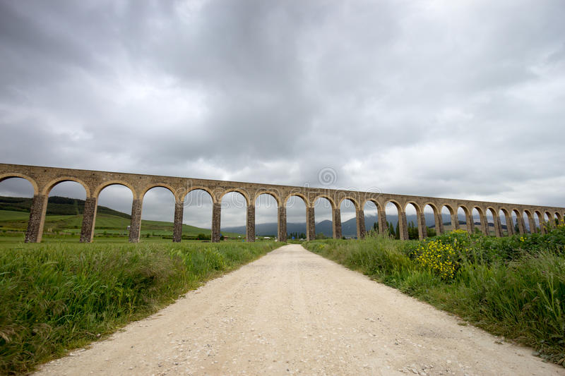 Aquaduct Spain stock photos