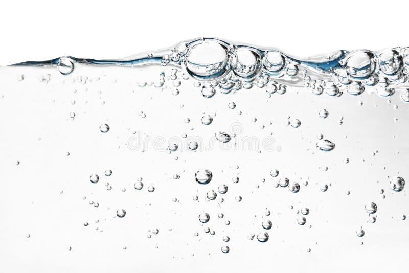 Aquakunst - angeredetes Konzept des Wassers abstrakte Hintergründe stockfotos