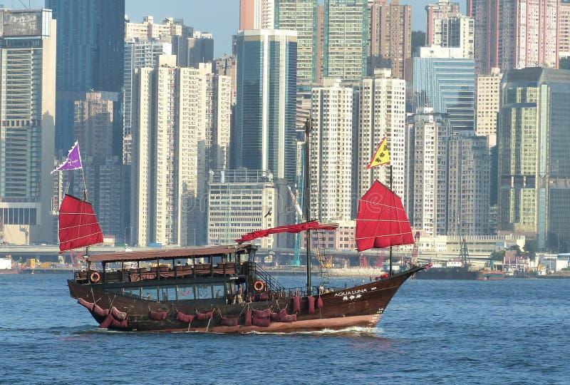 Aqualuna. Hong Kong. stock images