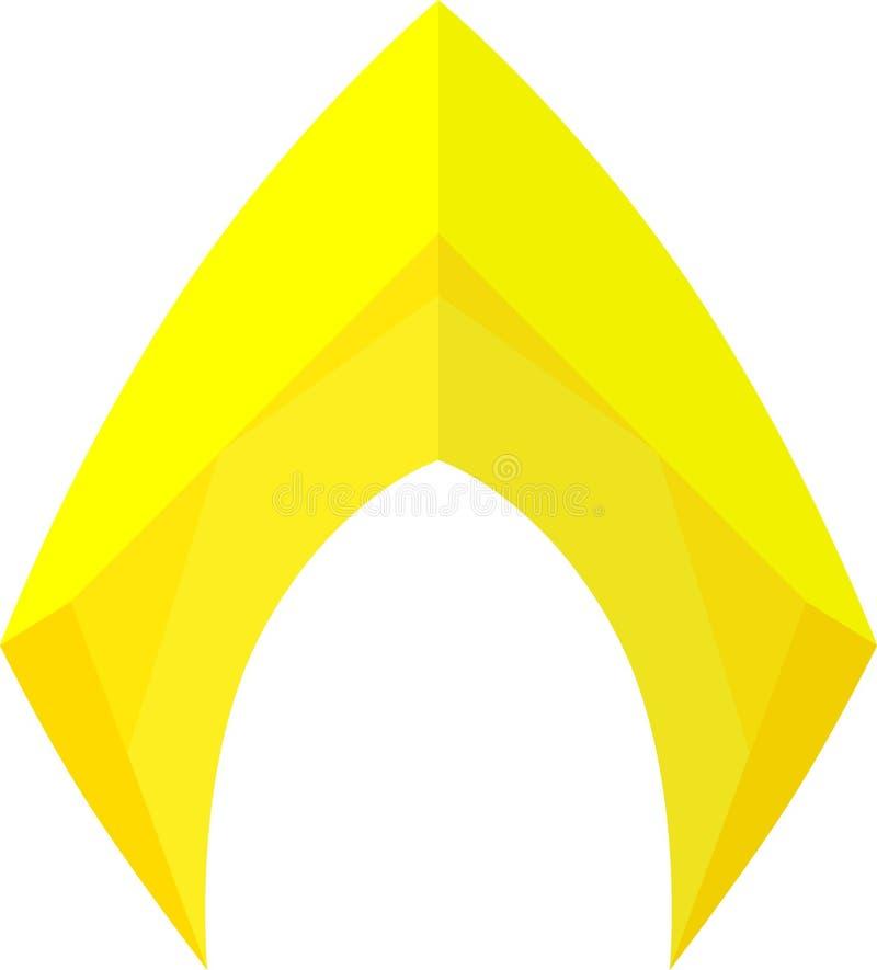 Aquaman Logo. The original Aquaman logo illustration vector vector illustration