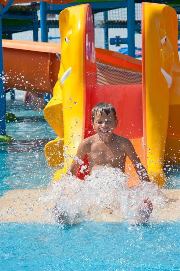 Aquapark Royalty Free Stock Photography