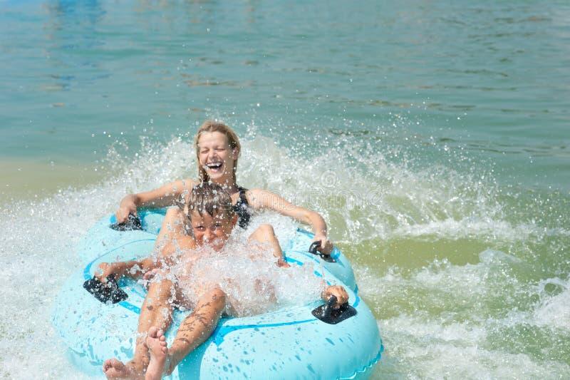 Aquapark fotos de stock