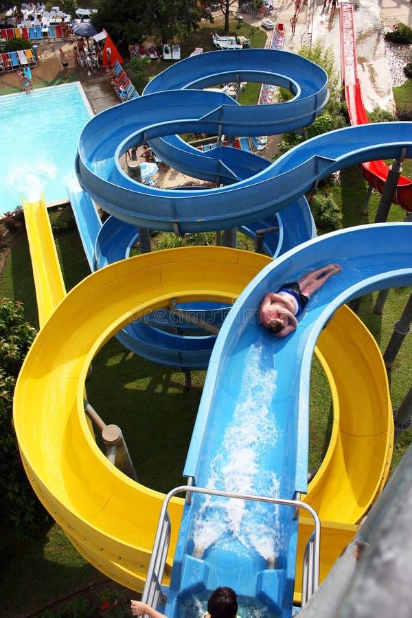 Aquapark stock images
