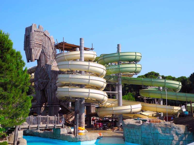 Aquapark stock afbeeldingen