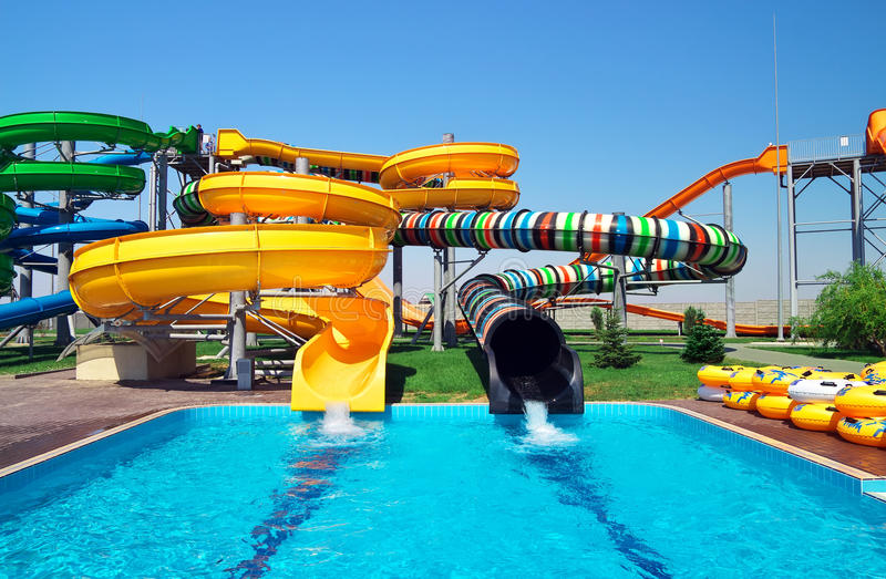 Download Aquapark Sliders Royalty Free Stock Photo - Image: 31882515