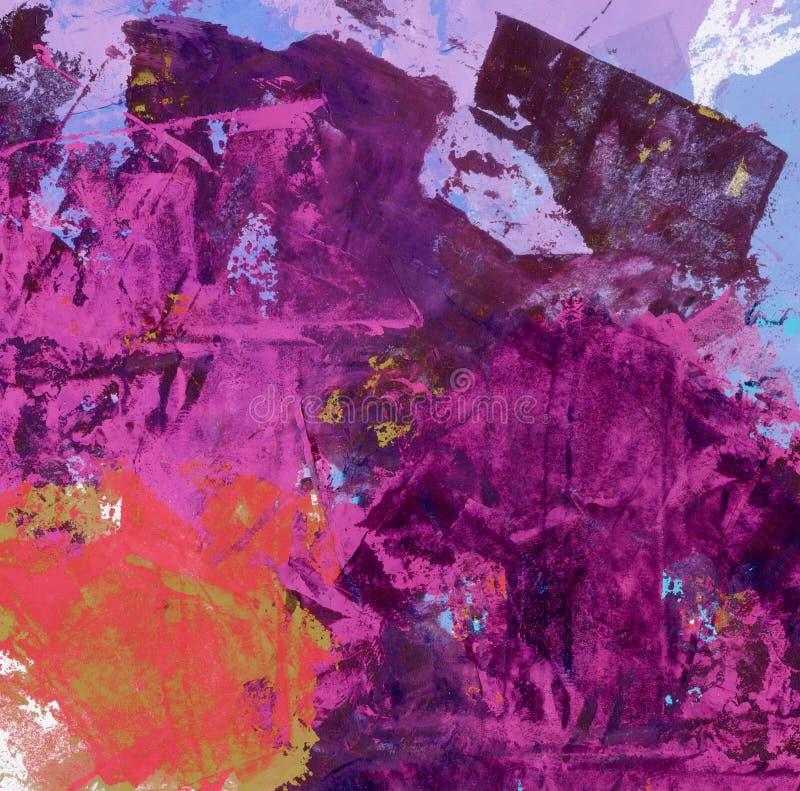 Aquarela abstrata ilustração stock