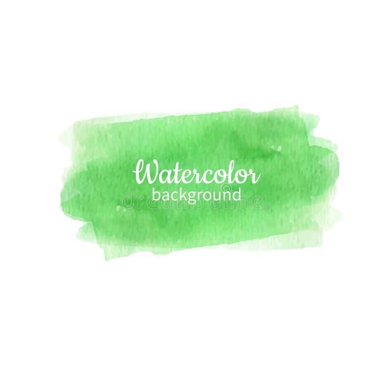 Download Aquarell Geen Abstrakten Handgemalten Hintergrund Aquarell Vec Vektor Abbildung - Illustration von tinte, auslegung: 106803387