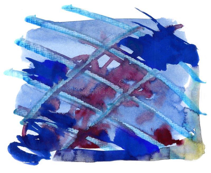 Aquarelle abstraite illustration libre de droits