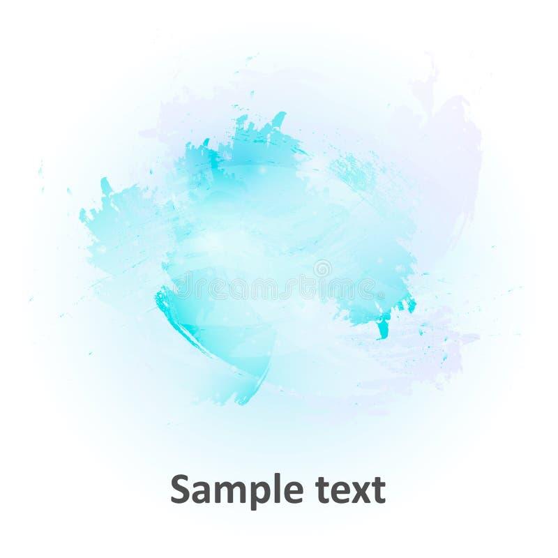 Aquarelle abstraite d'illustration de fond photos stock