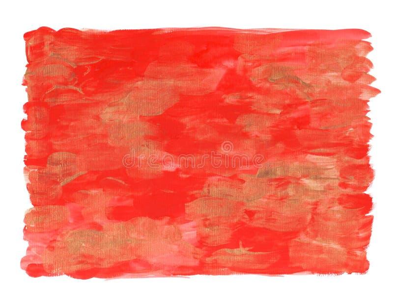Aquarelle colorée abstraite pour le fond illustration libre de droits