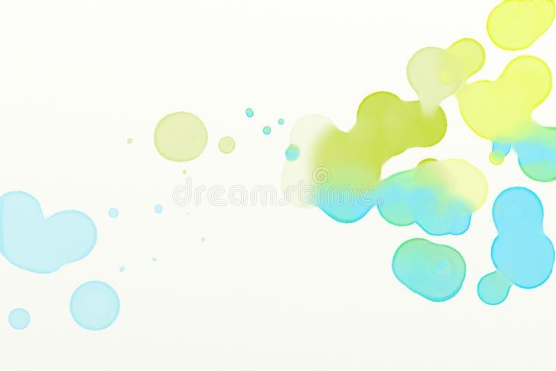 Aquarelle de mélange 015 illustration stock