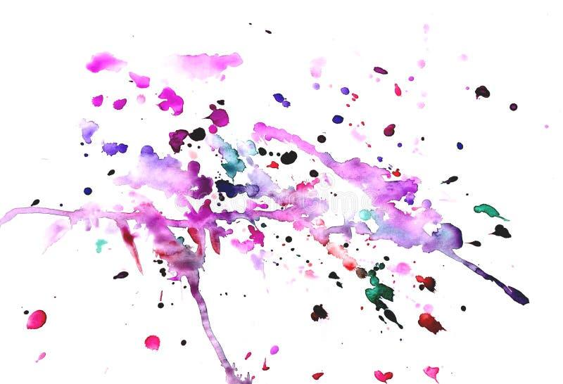 aquarelle de peinture de jet sur le fond blanc photo stock image du transparent fond 89517646. Black Bedroom Furniture Sets. Home Design Ideas