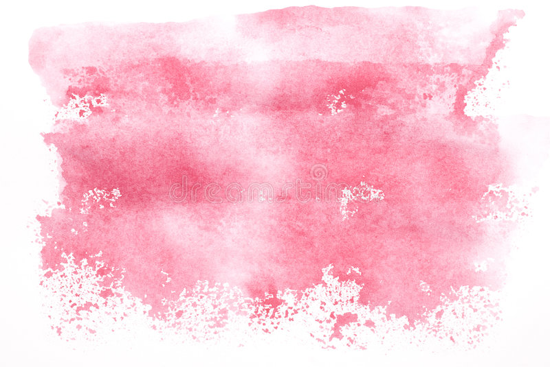 Aquarelle rose photographie stock