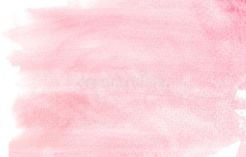 aquarelle rose de fond image stock