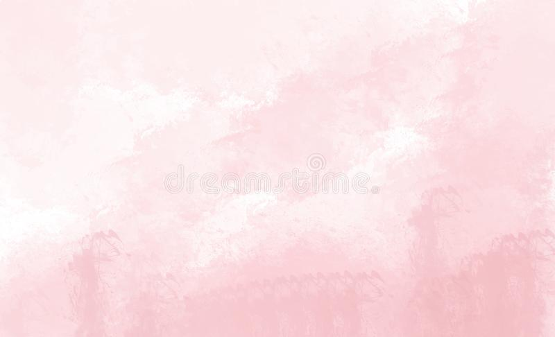 aquarelle rose de fond Dessin de Digital illustration de vecteur