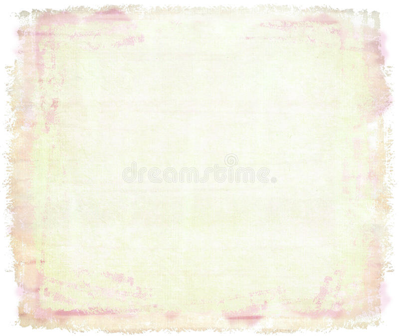 Aquarelle rose sur la toile photos libres de droits