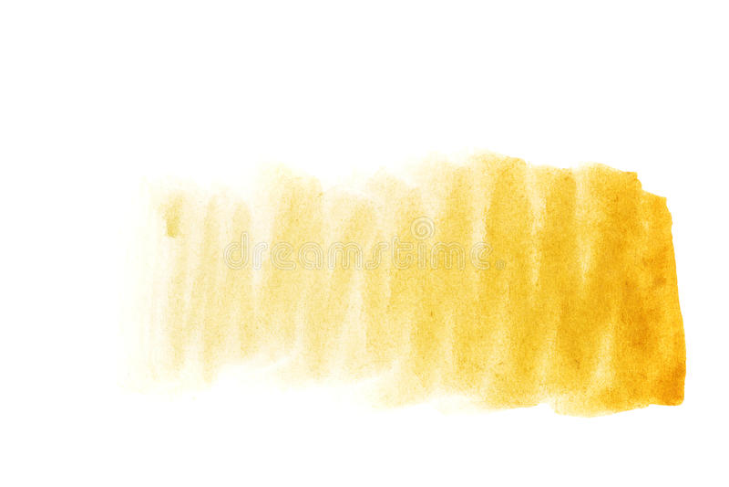 Aquarellhintergrund ockerhaltig stockfoto