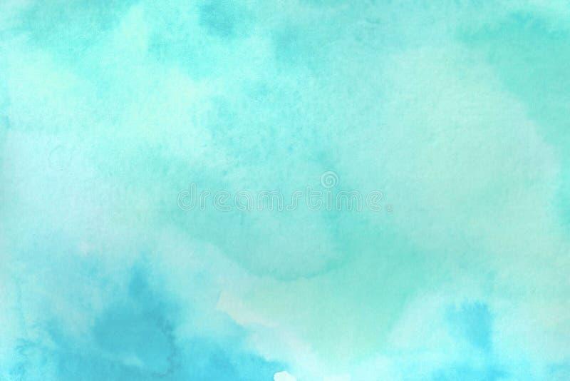 Aquarellhintergrundillustration Aquarellsteigung als Marmorbeschaffenheit lizenzfreie abbildung