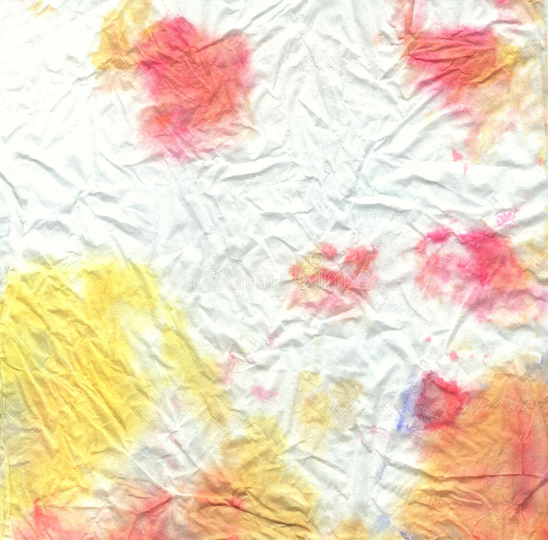 Aquarellmehrfarbiges zerknittert vektor abbildung