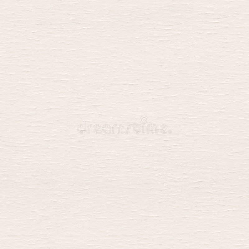 Aquarellpapier im helle Creme Sepiaton Nahtlose quadratische Rückseite stockbild