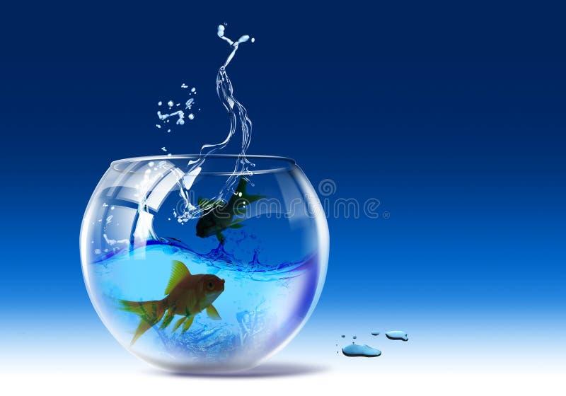 Aquarium royalty free illustration