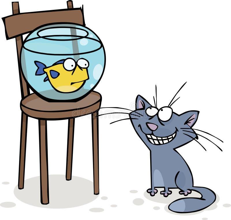 Aquarium stock illustratie