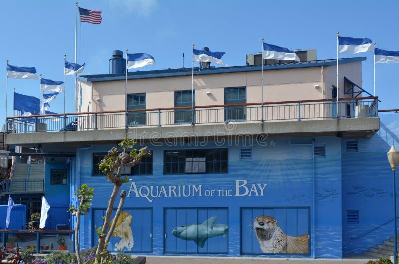 Aquarium of the Bay in San Francisco - California. SAN FRANCISCO, USA - MAY 19 2015:Aquarium of the Bay in San Francisco, California.The Aquarium is focused on royalty free stock image