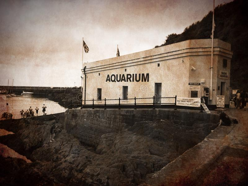 Aquarium de Mevagissey photos stock