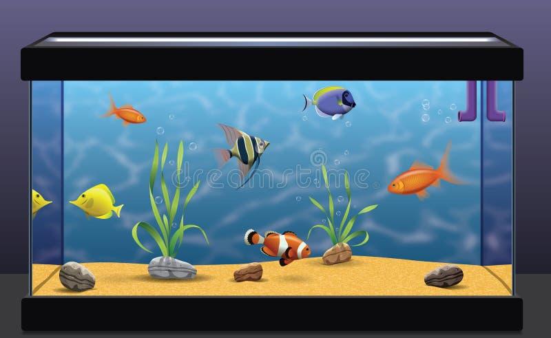 Aquarium vector illustration