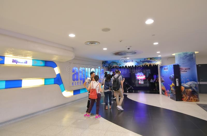 Aquarium Kuala Lumpur Malaysia image libre de droits