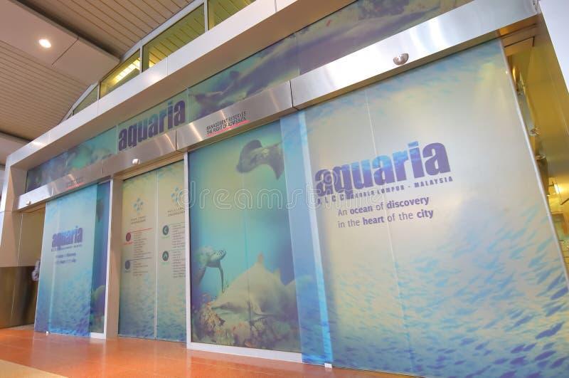 Aquarium Kuala Lumpur Malaysia photos libres de droits