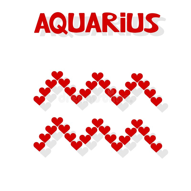 Aquarius illustrazione vettoriale