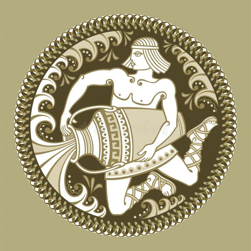 Aquarius, Signs Of Zodiac Royalty Free Stock Photography