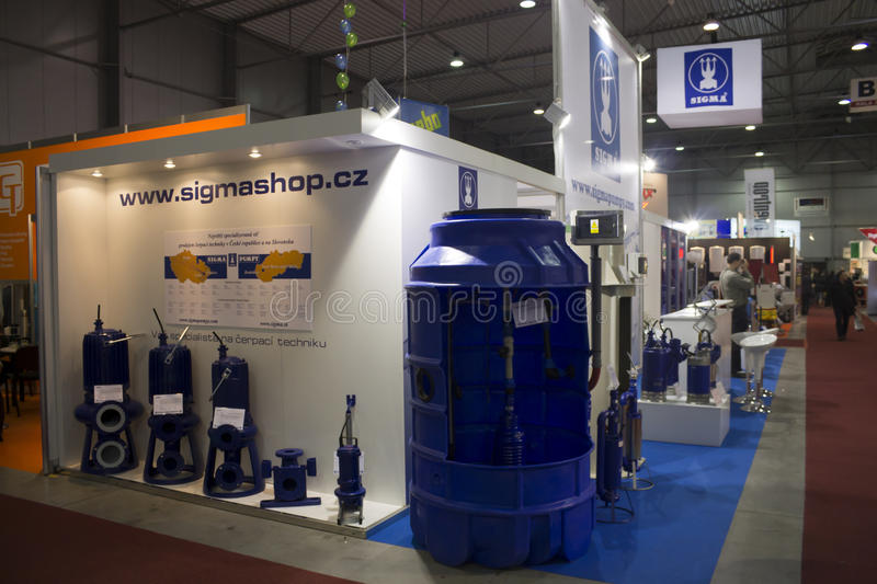 AquaTherm 2011 In Prague Editorial Photo