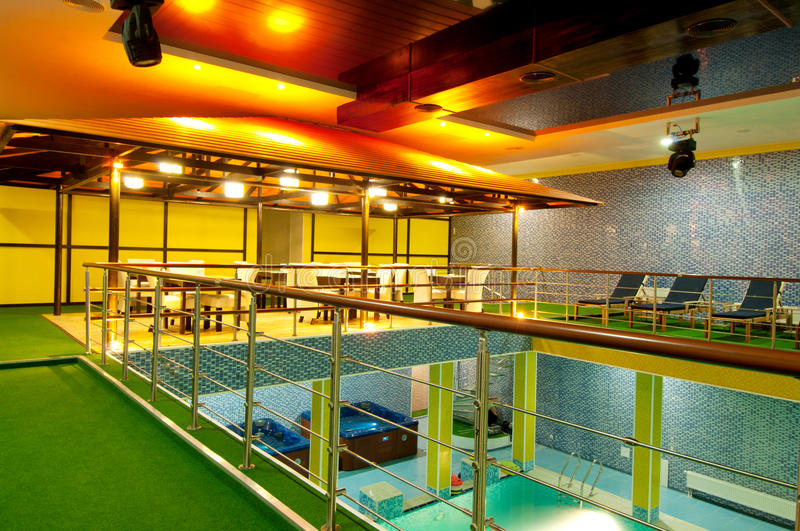 Download Aquatic center stock photo. Image of entertainment, space - 22825884