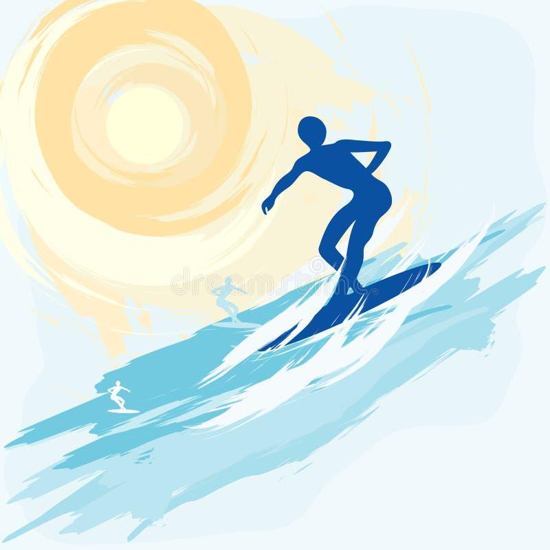 Aquatics illustration libre de droits