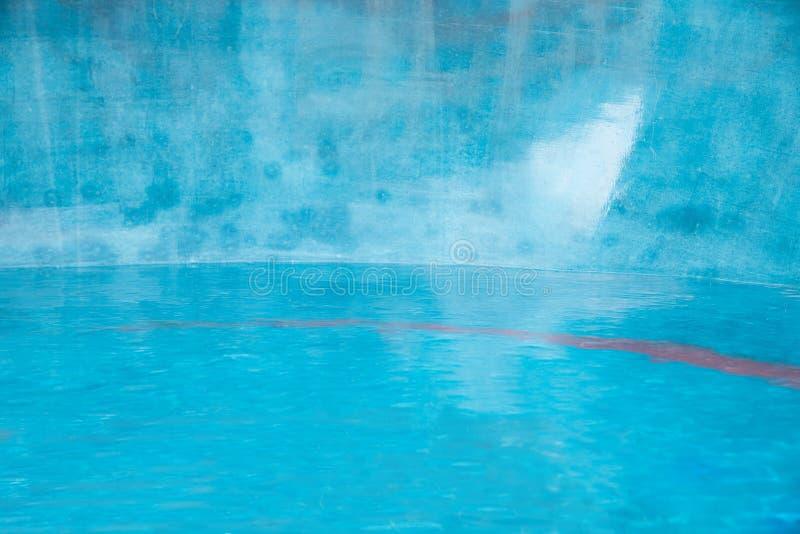Aquatisch turkoois als achtergrond stock fotografie