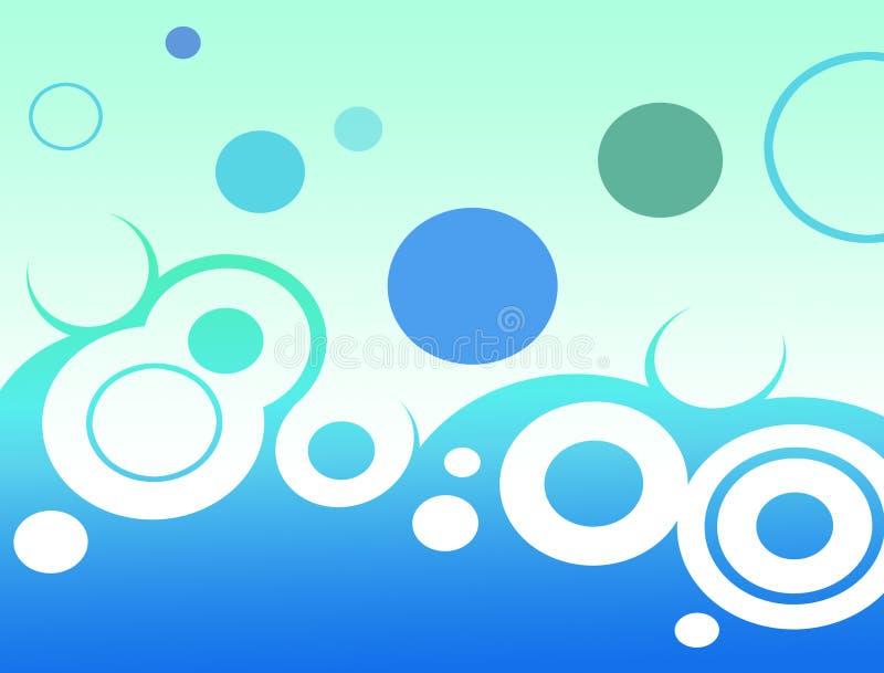 aquavärld royaltyfri illustrationer