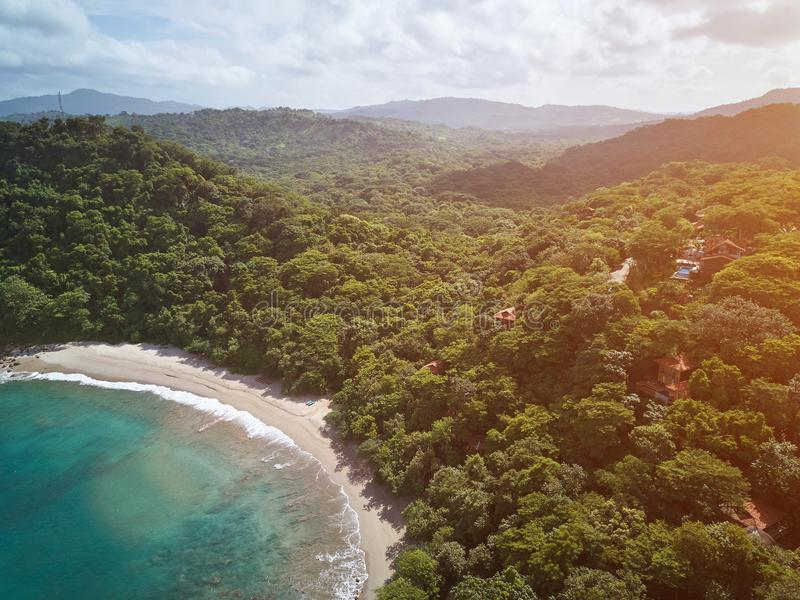 Aquawellnessbaai in Nicaragua stock afbeeldingen