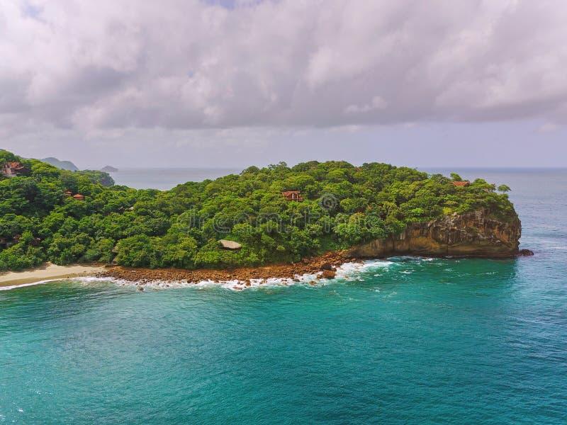Aquawellnesstoevlucht in Nicaragua stock fotografie