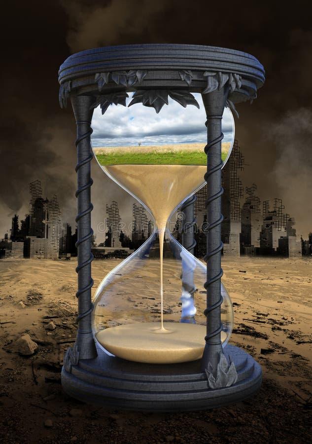 Aquecimento global, alterações climáticas, ambiente imagens de stock